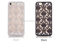 Buy direct from china Retro Palace Hollow Flower Print Case PC Hard Shell Clear Phone Back Cover pc case for iphone 6 wholesale