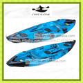 kayak sit on top de 1 plaza equipado para pesca