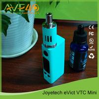 2015 Wholesale Original eVic VTC Mini Joyetech eVic VTC Mini Starter Kit with 60W 0.2&0.4ohm eGo One Mega