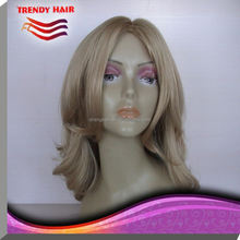 Mongolian Human Hair Jewish Topper Wig GX11-406
