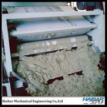 Sewage treatment system machine for municipal wastewater dewatering