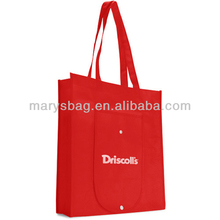 Reusable and Recyclable Folding Tote Bag with snap closure