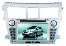 For Toyota new Vios Auto DVD Player with GPS Navigation