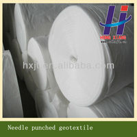 PP staple polyester fiber needle punched fabric geotextile