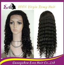 Paypal Accept cheap pirce top value indian long glueless full lace wigs for black women