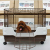 Small dogs folding cage dog cage