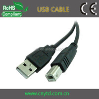 Hot selling 28/24 printer usb cable am/bm usb printer cable in shenzhen