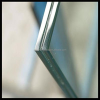 15mm tempered laminated safety glass for stairs