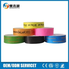 Party Supplies One Time waterproof Paper Cheap Wristbands