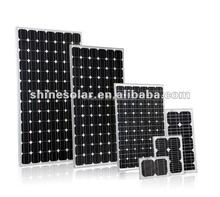 Shine panel solar 50w 75w 80w 100w 200w 300w factory solar panel price