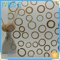 Eco-resin recycling used combined bamboo interior wall panels