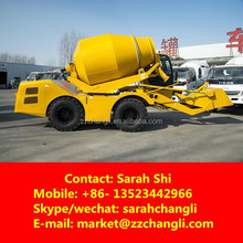 Hot Sale! 3m3 4 Wheel Drive Concrete Mixer Dumper with Loader