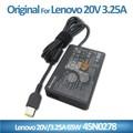 Adaptador del ordenador portátil para Lenovo 20 V 3.25A 65 w cuadrado con conector by comercio garantía