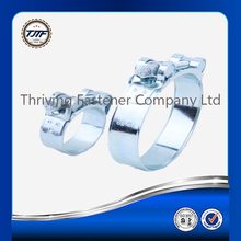 22mm bandwith single bolt heavy duty hose clamp galvanized and stainless steel