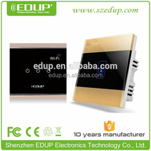 smart home appliance system wireless mobile phone controlled power wall switch with free APP