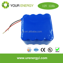 Well- performance LiFePO4 12V 12Ah battery