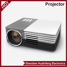 2015 Newest HD home projector Support HDMI VGA AV LED mini projector mobile phone
