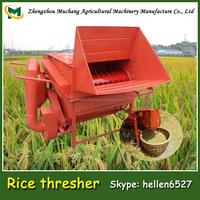 2015 most popular multifunction gasoline rice thresher