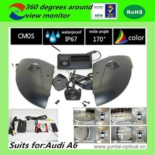 ISO9001:2008/ROHS/CE certification HD 360 degrees car dvr with decoding navigation function and reverse trajectory