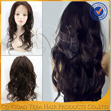 Natural looking sexy girls long wavy fashion source hair wig