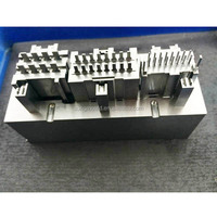 high precision plastic injection mold parts , mould components machining factory