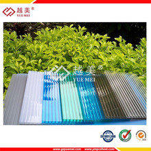100% raw lexan construction material pc polycarbonate pc solar panel roof
