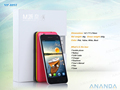 telefonos celulars 809t con pantalla táctil