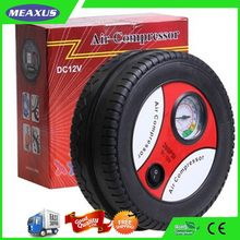 Excellent quality manufacture car air compressor tire inflator gauge
