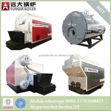 made in china high quality coal fired biomass fuel fired gas fired oil fired steam boiler types