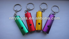 aluminum key led flashlight torch mini led flashlight keychain