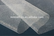 Hot sale,strong adhesion net for high grade fabric laminaiton,PA with good dry cleaning