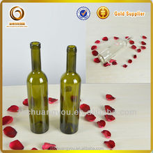 wholesale cork red wine and grape glass wine empty bottles