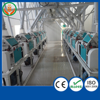 Corn end mill grinding mill machine