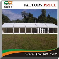 15x25m American style luxury Clear roop transparent marquee wedding party tents
