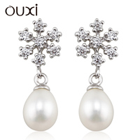 fashion earrings wholesale , fashion jewelry oem, earring with pearl Y20267