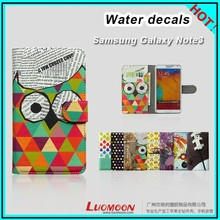 Customized Painting Decals Leather Cover for Note3 Note4