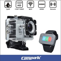 Full HD 1080P WiFi motorcycle and car dvr sports camera for adventurer