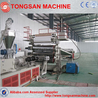 PVC imitation marble sheet/board production /extrusion line