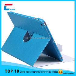 Newest 360 Degree Rotating Stand Tablet Case for Ipad, Sleep Feature Leather Case For IPad Case