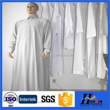 china textiles manufactures for make arab thobe thawb100% spun polyester fabric