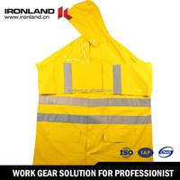 Polyester Durable Rain Coat, Best Moisture Resistance Poncho Custom waterproof PVC raincoat