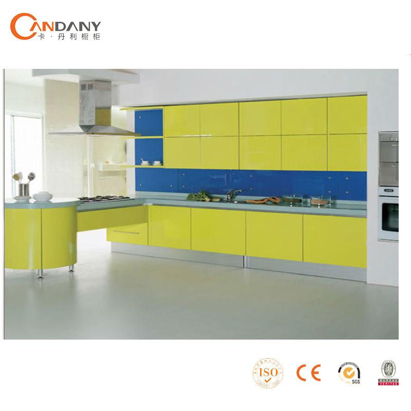 Moderno gabinete de cocina de estilo europeo gabinete de for Estilos de gabinetes de cocina modernos