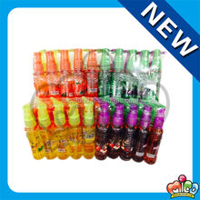 4 flavors fruit spray candy