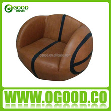 Hot Selling Leather Soccer Football Sofa Children Sofa
