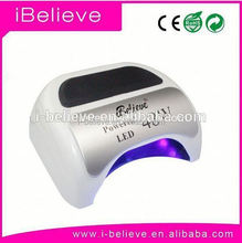 2015 latest led uv nail lamp curing five finger with hand auto sensor beauty equipment