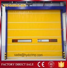 YQF-01 Rapid fold up door high speed stacking door