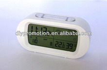 Creative multifunction lcd calendar temperature with weather forecast lcd alarm clock