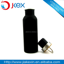 Wholesale Eco Friendly Outdoor Activity Metal Stainless Steel Screw Top Drink Bottles With Healthy Bamboo Lid