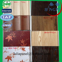 competitive price wood laminated pvc ceiling panel from china