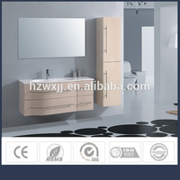 Rectangular shape new style PVC material german furniture for bathroom